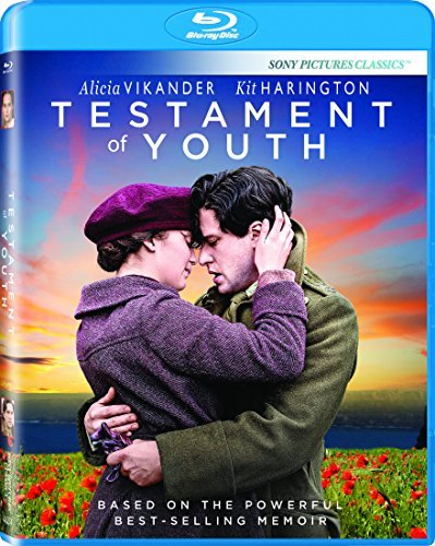 Testament Of Youth Vikander Harington Blu Ray Pg13