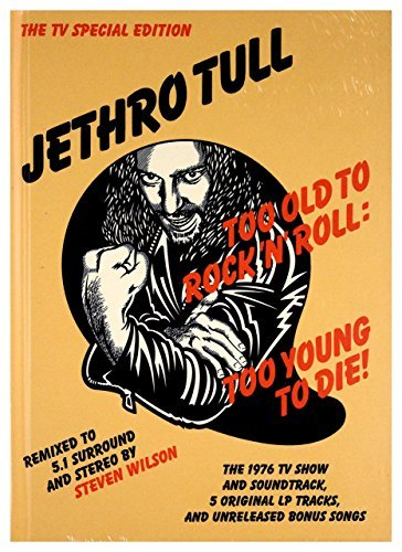 Jethro Tull Too Old To Rock 'n' Roll Too Young To Die (2cd 2dvd)