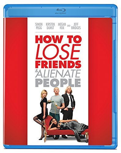 How To Lose Friends & Alienate People Pegg Fox Dunst Bridges Blu Ray R