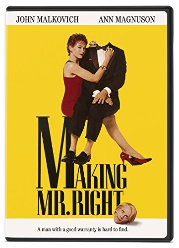 Making Mr. Right Malkovich Magnuson Headly Mast DVD Pg13