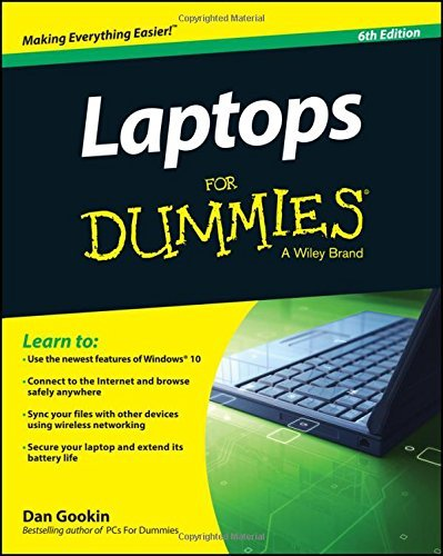 Dan Gookin Laptops For Dummies 0006 Edition;revised
