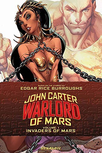 Ron Marz John Carter Warlord Of Mars Volume 1 Invaders Of Mars