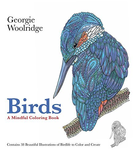 Georgie Woolridge Birds A Mindful Coloring Book
