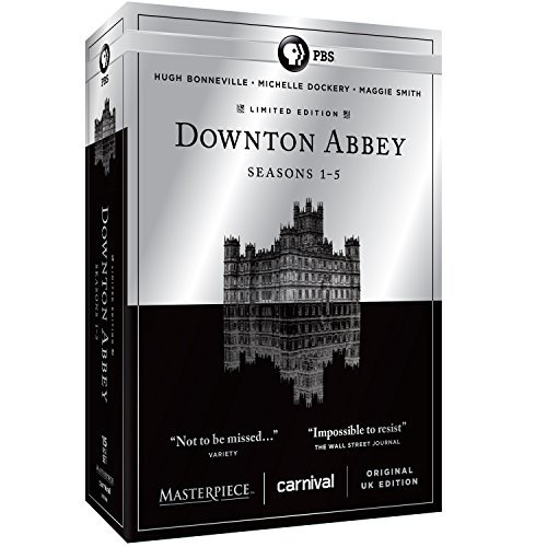 Downton Abbey Seasons 1 5 DVD Seasons 1 5