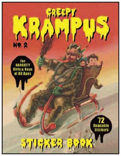 Monte Beauchamp Krampus Sticker Book #2