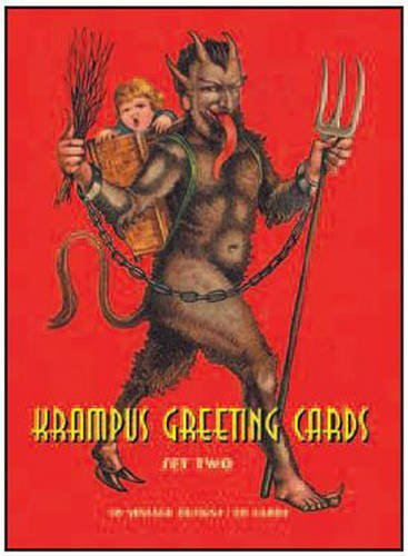 Monte Beauchamp Krampus Greeting Cards #2