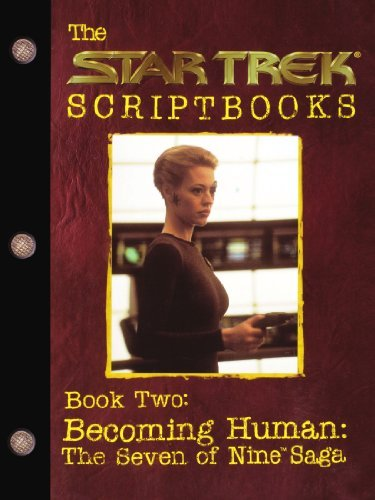Pocket Books Becoming Human The Seven Of Nine Saga Script Book #2 Original