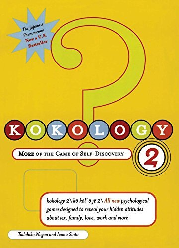 Tadahiko Nagao Kokology 2 More Of The Game Of Self Discovery