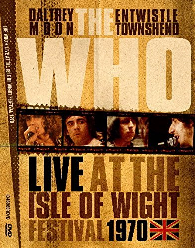 The Who Live At The Isle Of Wight Festival 1970 3 Lp Live At The Isle Of Wight Festival 1970