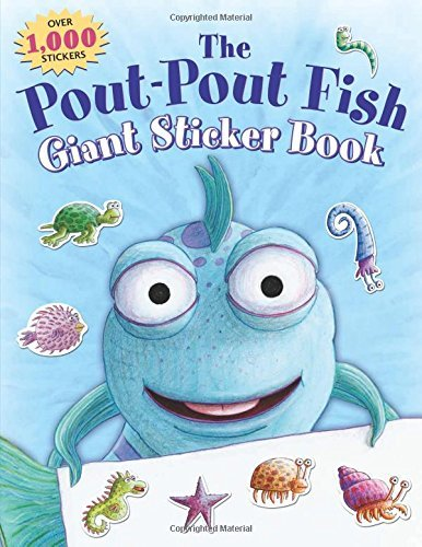 Deborah Diesen The Pout Pout Fish Giant Sticker Book Over 1000 Stickers