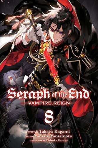 Takaya Kagami Seraph Of The End 8 Vampire Reign