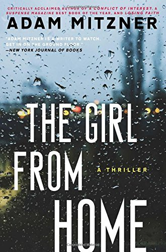 Adam Mitzner The Girl From Home A Book Club Recommendation!