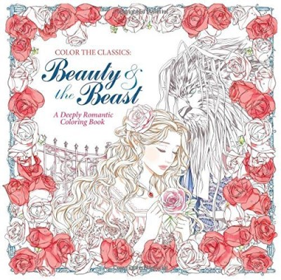 Jae Eun Lee Color The Classics Beauty And The Beast A Deeply Romantic Coloring