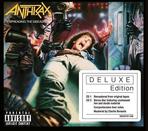 Anthrax Spreading The Disease 2xcd Includes Live CD
