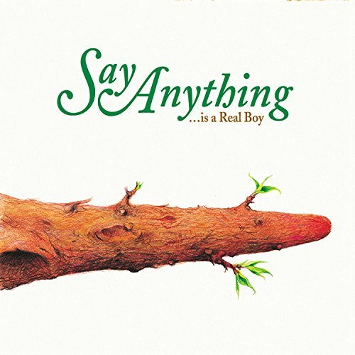 Say Anything Is A Real Boy (dark Green Vinyl W White & Black Starburst) Explicit