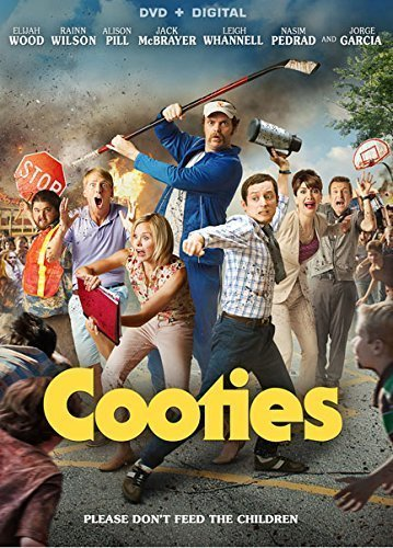 Cooties Wood Wilson Pill DVD Dc R