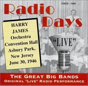 Harry James Orchestra Radio Days Convention Hall Asbury Park Nj June