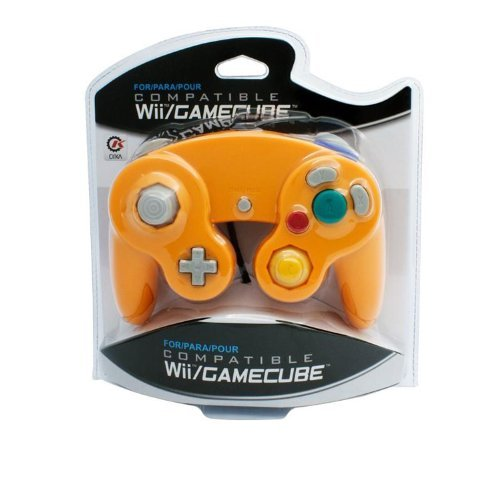 Wii Gamecube Cirka Controller (orange) Wii Gamecube Cirka Controller (orange)