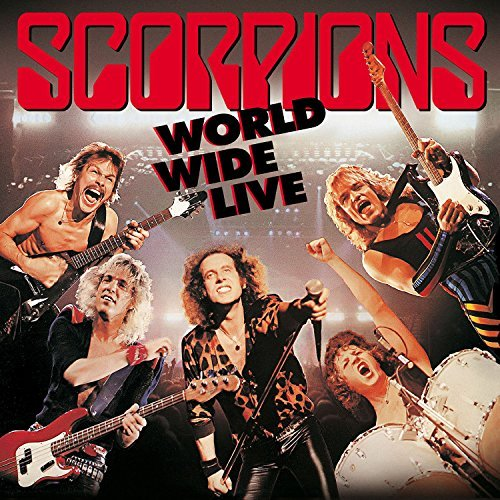 Scorpions World Wide Live 50th Band Ann Import Gbr