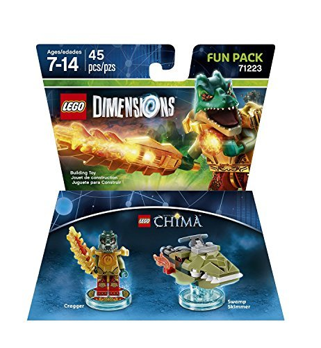 Lego Dimensions Chima Cragger Fun Pack Lego Dimensions Chima Cragger Fun Pack