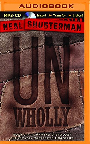 Neal Shusterman Unwholly Mp3 CD