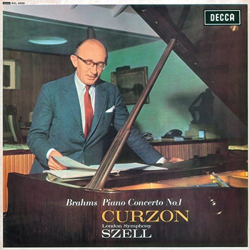 Brahms Curzon Szell Lond Piano Concerto No 1 In D Minor Piano Concerto No 1 In D Minor