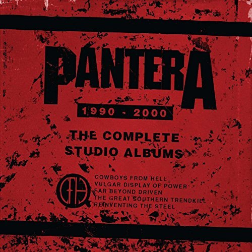 "Pantera Complete Studio Albums 1990 2000 (colored Vinyl) 5 Lp Colored Vinyl W 7"" Vinyl Single"