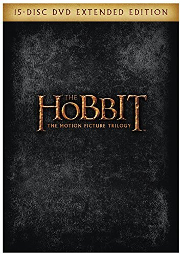 Hobbit Trilogy Extended Edition DVD