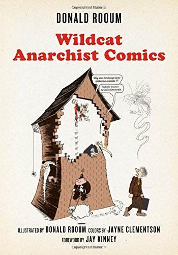 Donald Rooum Wildcat Anarchist Comics