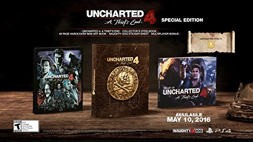 Ps4 Uncharted 4 A Thiefs End Special Edition