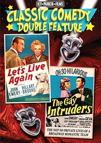 Let's Live Again & Gay Intruders Double Feature DVD