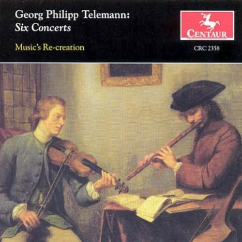 G.P. Telemann Six Concerts Music's Re Creation