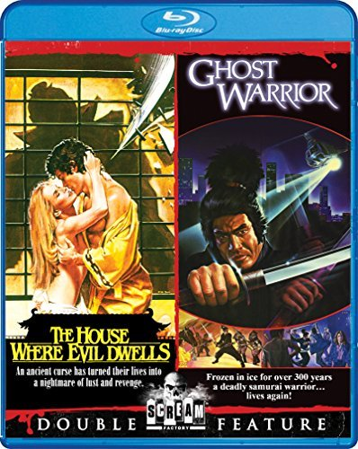 House Where Evil Dwells Ghost Warrior Double Feature Blu Ray