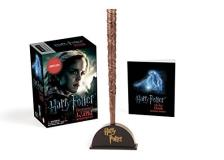 Running Press Harry Potter Hermione's Wand With Sticker Kit Lights Up!