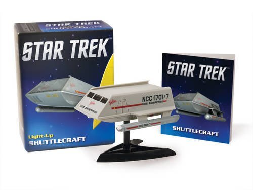 Chip Carter Star Trek Light Up Shuttlecraft [with 32 Page Book And Ligh