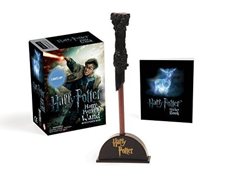Running Press Harry Potter Wizard's Wand With Sticker Book Lights Up! Revised