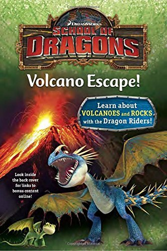 Kathleen Weidner Zoehfeld School Of Dragons #1 Volcano Escape! (dreamworks Dragons)