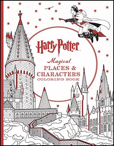 Inc. Scholastic Harry Potter Magical Places & Characters Coloring