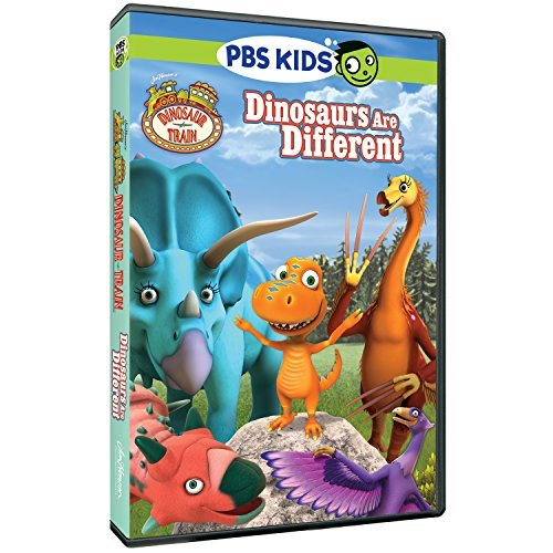 Dinosaur Train Dinosaurs Are Different DVD