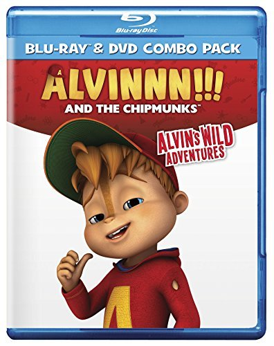 Alvin & The Chipmunks Alvins Wild Adventures Blu Ray