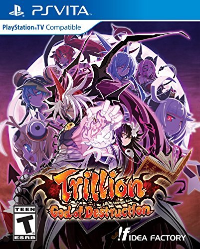 Playstation Vita Trillion God Of Destruction
