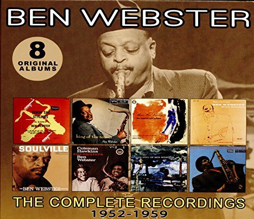 Ben Webster Complete Recordings 1952 1959