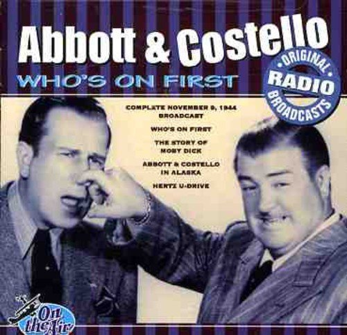 Abbot & Costello Who's On First Original Radio Boradcasts Import Eu