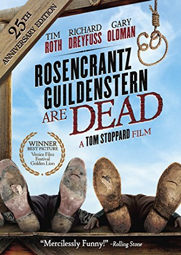 Rosencrantz & Guildenstern Are Dead Oldman Roth Dreyfuss DVD Pg