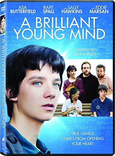 Brilliant Young Mind Butterfield Spall Hawkins DVD Pg13