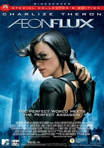 Aeon Flux Theron Mcdormand Okonedo Ws Pg13