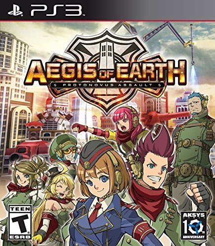 Ps3 Aegis Of Earth Protonovus Assault