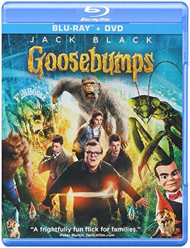 Goosebumps Black Minnette Rush Blu Ray Dc Pg