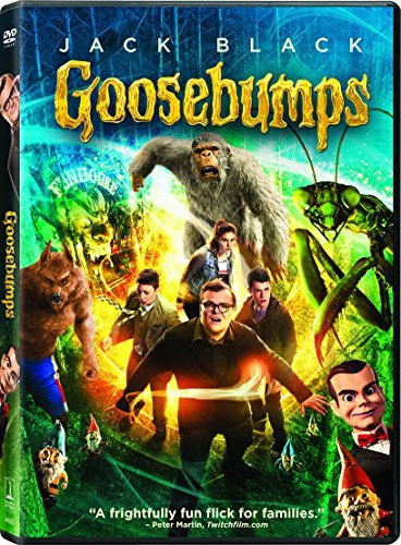 Goosebumps Black Minnette Rush DVD Pg