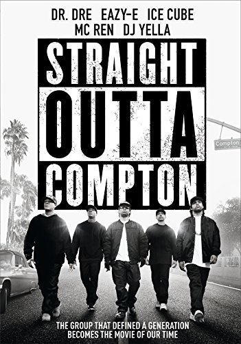 Straight Outta Compton Jackson Hawkins Mitchell Brown Hodge DVD R